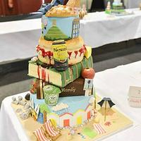 South West UK Themed, Best in Show/Award Winning Cake!