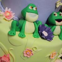 Princess and the frog by CakesbyAngelaMorrison