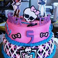 Stupendous Monster High Birthday Cake Cake By Jeana Byrd Cakesdecor Funny Birthday Cards Online Fluifree Goldxyz