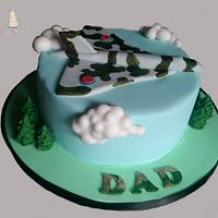 Vulcan Bomber cake