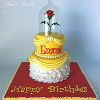 Disney Princess Belle Cake