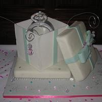 Engagement Ring Cake ALL EDIBLE!