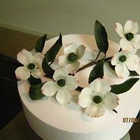 Gumpaste Dogwood Blossoms