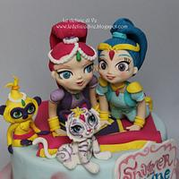 SHIMMER AND SHINE CAKE by le delizie di ve