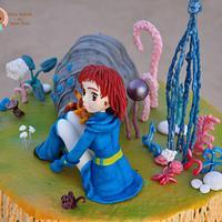 Nausicäa Studio Ghibli Cake Collaboration