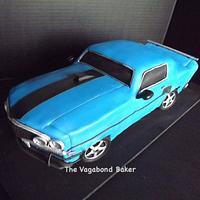'69 Ford Mustang Groom's Cake