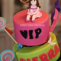 Topsy Turvy Candy Land by Carla