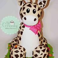 3D Giraffe Cake