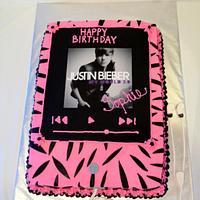 Justin Bieber Zebra Ipod