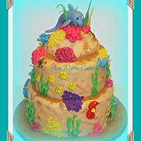 JUD'S UNDER THE SEA CAKE