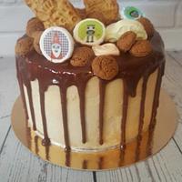Sinterklaas drip cake