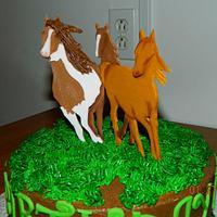 Horses by Maureen