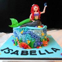 little mermaid ocean cake by heather369