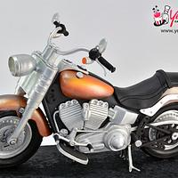 3D Cruiser Motorcycle Cake