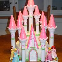 Princess Gretchen's Castle Cake