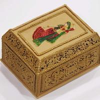 Antique jewellery box