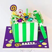 Lolly/Candy Box Cake