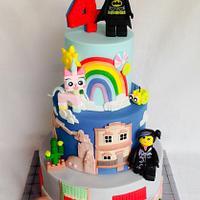 Lego movie cake!