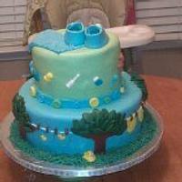 Baby Shower Cake by Tammy