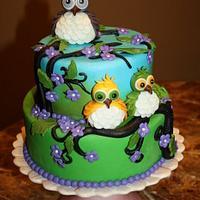 Cute owls by Julia Ch