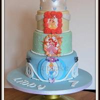 Disney Princess Cake by Kupcake