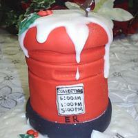 sml post box cakes