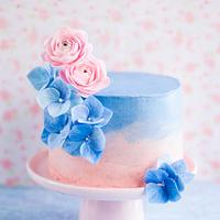 Pantone Color of the Year Inspired Cake