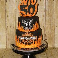 50th Birthday Harley style