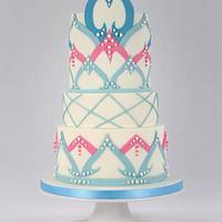 Mandalas Cake - Sugar Art for Autism 2018 Collaboration