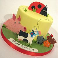 What The Ladybird Heard Birthday Cake