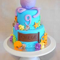 Under the Sea Octopus cake