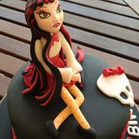 Monster High Cake-Draculaura by Neda's Cakes