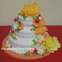 Paper Crane Studio's Grand Opening Party Cake