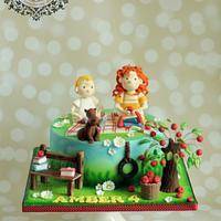 Stella and Sam cake for little Amber