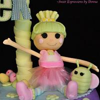 Lalaloopsy Easter Cake by Donna