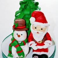 chrismas cake topper - panettone decorato + tutorial