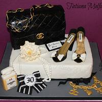 Chanel Cake by Tatiana Melfa