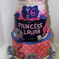 Justin Loves Laura Birthday Cake