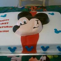 Mickey Mouse Full Sheet Birthday Cake