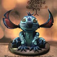 Stitch cake by Paul of Happy Occasions Cakes.