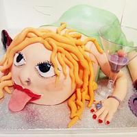 21st Girl Cake! by EmzCakes
