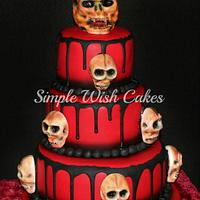 Red Devil Birthday Cake