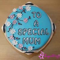 Special Mum Cameo Cake