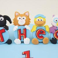 Timmy Time Cake by Little Cherry