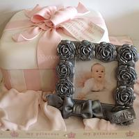 Keepsakes 1st Birthday Cake by Shereen