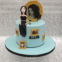 18th Birthday cake for Ellie