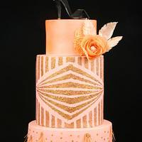 Caker Buddies Collab-Glamour-Blush on some Glitz