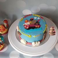 Sinterklaas cake and cupcakes