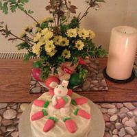 Easter carrot cake :) by Joanna Wisniewska