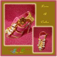 Printed Stiletto Shoe